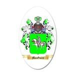 MacGuire 35x21 Oval Wall Decal