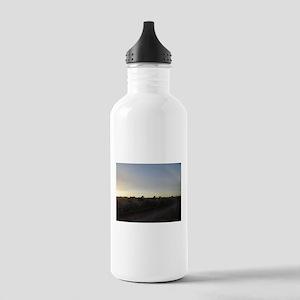 Sunset Horses Water Bottle