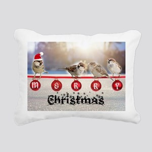 Little Christmas Rectangular Canvas Pillow