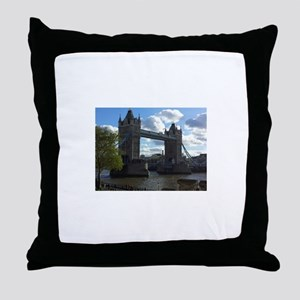 London Bridge Throw Pillow