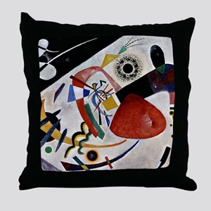 Kandinsky - Red Spot II Throw Pillow