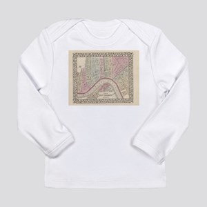 Vintage Map of New Orleans (18 Long Sleeve T-Shirt