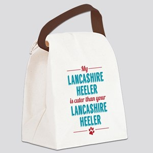 My Lancashire Heeler Canvas Lunch Bag
