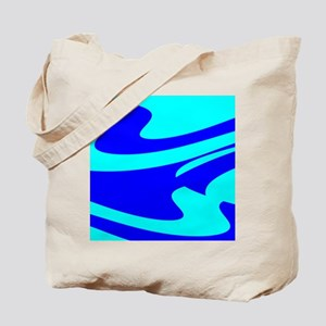 Turquoise Wild Wave Randy's Fave Tote Bag