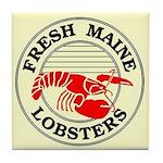 Fresh Maine Lobsters Tile Coaster