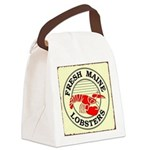 Fresh Maine Lobsters Canvas Lunch Bag