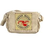 Fresh Maine Lobsters Messenger Bag