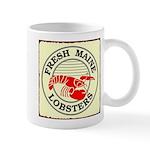Fresh Maine Lobsters Mug