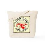 Fresh Maine Lobsters Tote Bag
