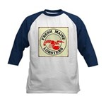 Fresh Maine Lobsters Kids Baseball Jersey