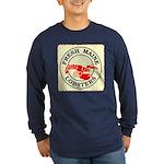 Fresh Maine Lobsters Long Sleeve Dark T-Shirt