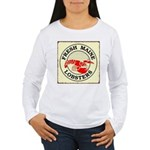 Fresh Maine Lobsters Women's Long Sleeve T-Shirt