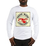 Fresh Maine Lobsters Long Sleeve T-Shirt