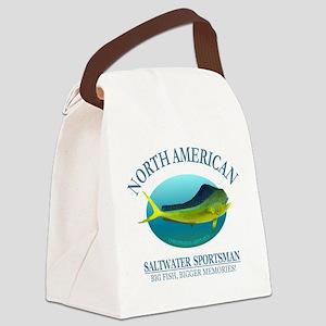 NASM (Mahi Mahi) Canvas Lunch Bag