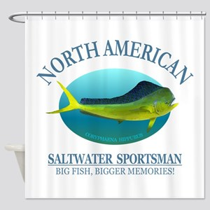 NASM (Mahi Mahi) Shower Curtain