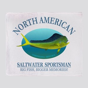 NASM (Mahi Mahi) Throw Blanket