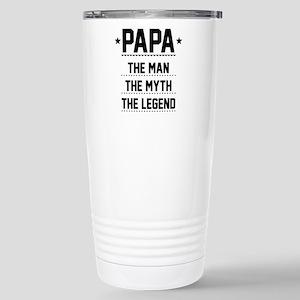 Papa - The Man, The Myth, The Legend Travel Mug