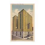 Mayflower Hotel Mini Poster Print