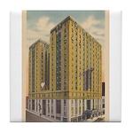 Mayflower Hotel Tile Coaster