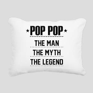 Pop Pop - The Man, The Myth, The Legend Rectangula