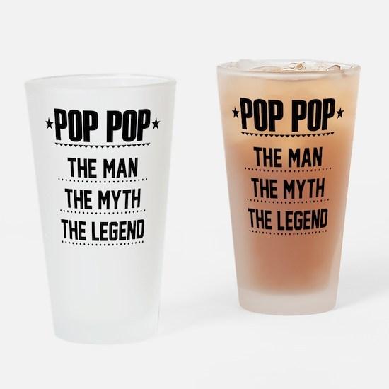 Pop Pop - The Man, The Myth, The Legend Drinking G