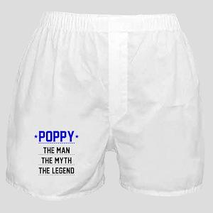 Poppy - The Man, The Myth, The Legend Boxer Shorts