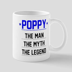 Poppy - The Man, The Myth, The Legend Mugs
