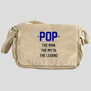 Pop - The Man, The Myth, The Legend Messenger Bag