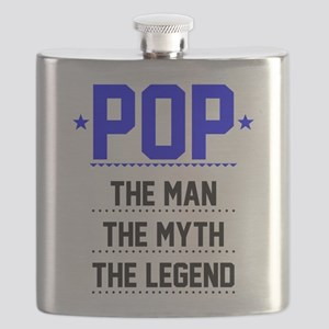 Pop - The Man, The Myth, The Legend Flask