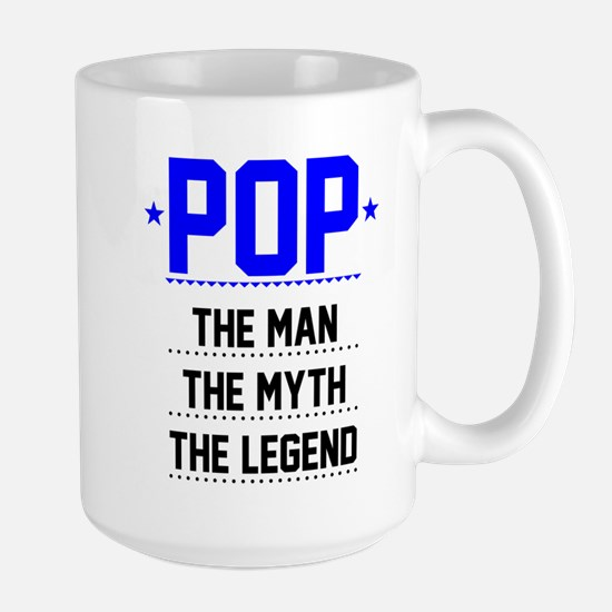 Pop - The Man, The Myth, The Legend Mugs