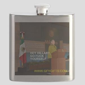 GFY Hillary Clinton Flask