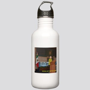 GFY Hillary Clinton Water Bottle