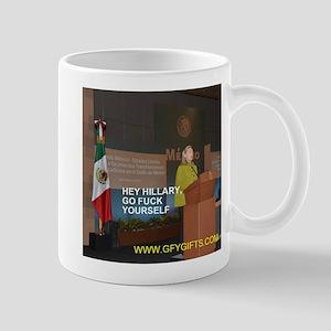 GFY Hillary Clinton Mugs