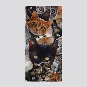 Kitty Collage Beach Towel