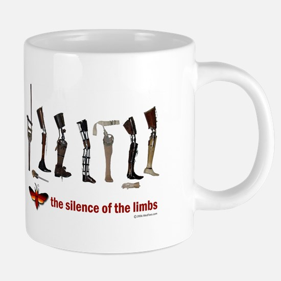 Silence of the Limbs Mugs