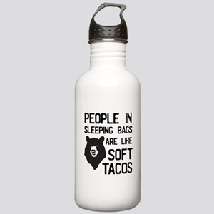 People In Sleeping Bags Are Like Soft Tacos Water