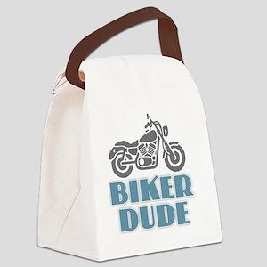 Biker Dude Canvas Lunch Bag