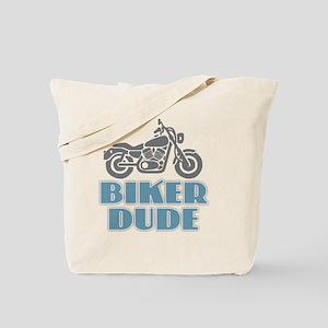 Biker Dude Tote Bag