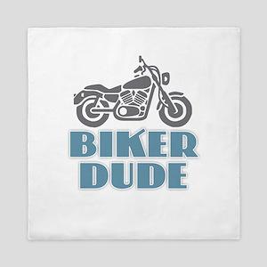 Biker Dude Queen Duvet