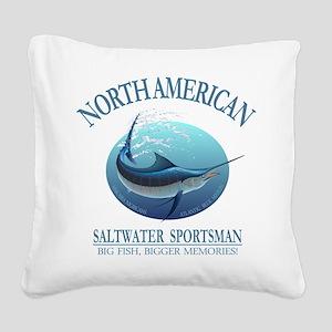 NASM (marlin) Square Canvas Pillow