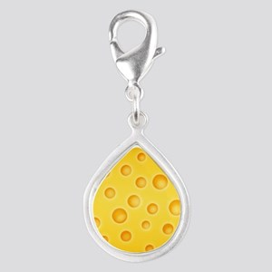 Swiss Cheese Cheezy Texture Pattern Charms