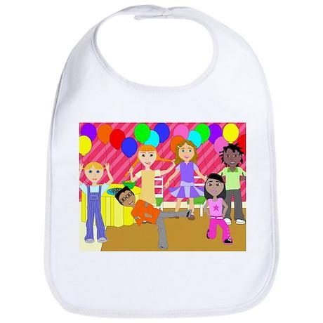 Fun4Brains Party Kids Bib