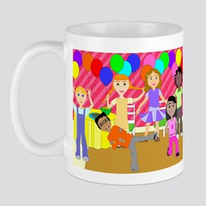 Fun4Brains Party Kids Mug