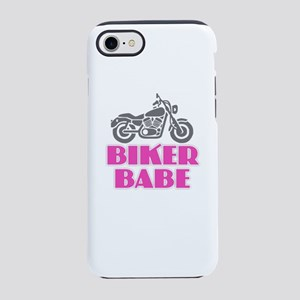 Biker Babe iPhone 7 Tough Case