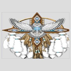 Snowy Owl Mandala