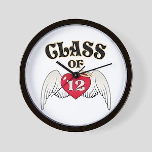 Class of '12 Wall Clock