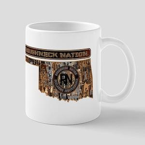 Oklahoma Rig Up Camo 11 oz Ceramic Mug