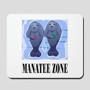 Manatee Zone Mousepad
