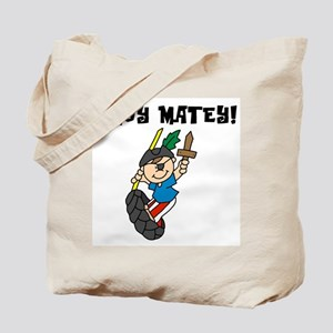 Boy Ahoy Matey Tote Bag