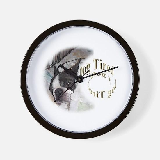 Sleeping Dog- Dog Tired 2 Wall Clock